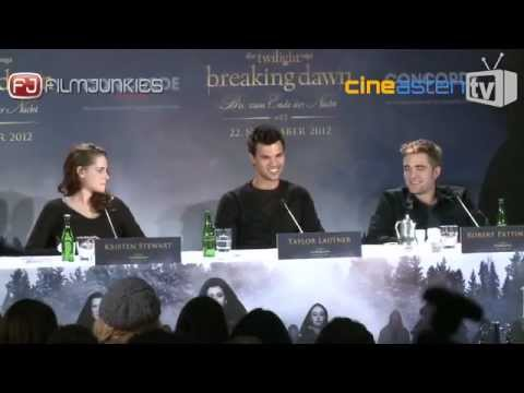 "Pressekonferenz ""Twilight: Breaking Dawn"""