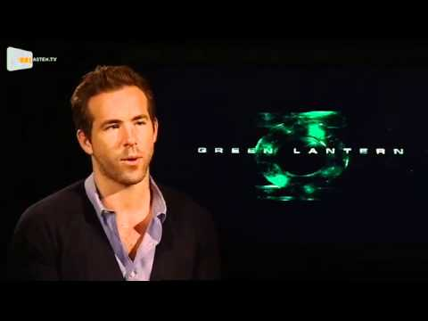 Cineasten.TV: Ryan Reynolds Interview – GREEN LANTERN