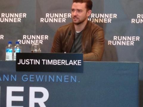 RUNNER RUNNER: Justin Timberlake in Berlin!