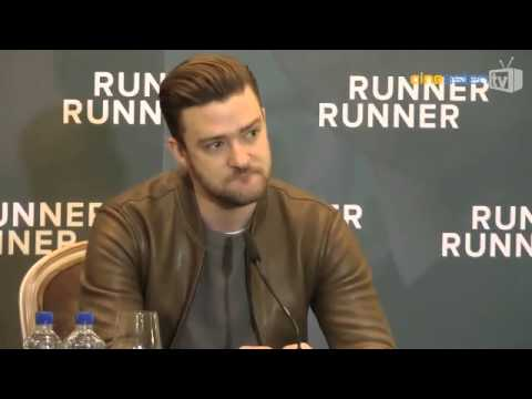 "Justin Timberlake in Berlin: PK zu ""Runner Runner"""