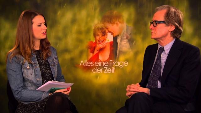 """Bill Nighy Interview zu """"Alles eine Frage der Zeit"""""""