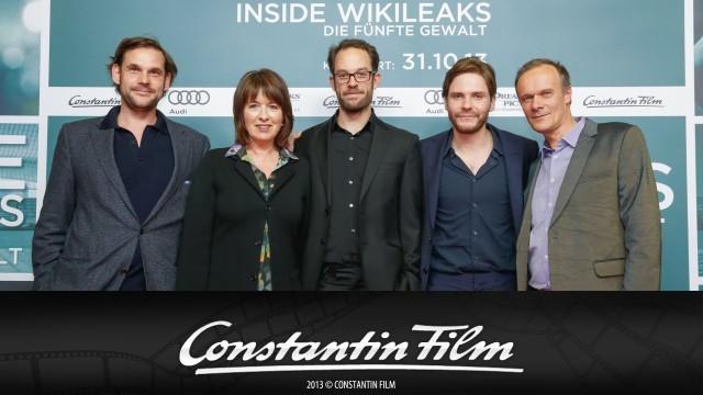INSIDE WIKILEAKS – DIE FÜNFTE GEWALT – Premiere im Kino in der Kulturbrauerei in Berlin