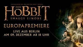 Der Hobbit: Smaugs Einöde – Livestream Europapremiere