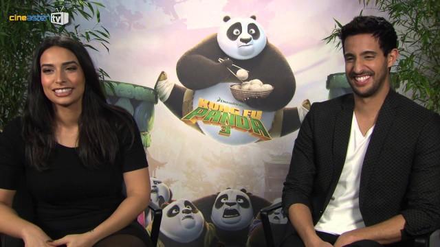 KUNG FU PANDA 3 Interviews mit Lamiya Slimani & Sami Slimani (Kinostart am 17. März 2016)