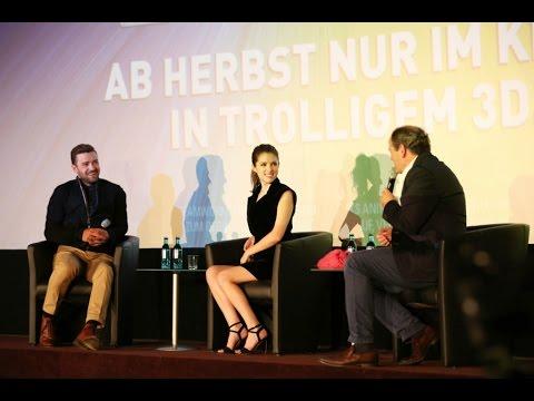 TROLLS: Q & A mit Justin Timberlake & Anna Kendrick in Berlin