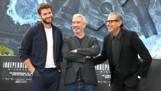 Liam Hemsworth und Jeff Goldblum in Berlin! INDEPENDENCE DAY: WIEDERKEHR (Kinostart: 14. Juli 2016)