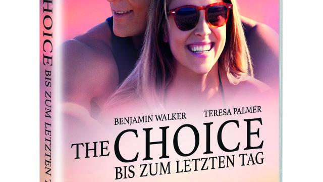 """GEWINNSPIEL: """"THE CHOICE – BIS ZUM LETZTEN TAG"""" (seit 26. August 2016 auf DVD, Blu-ray und als Video on Demand)"""