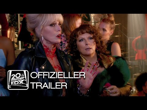"""""""Vodka & Champagne are our Bread & Butter!"""" – REVIEW: """"ABSOLUTELY FABULOUS – DER FILM"""" (Kinostart: 8.9.2016)"""