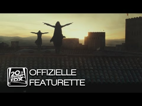 """ASSASSIN'S CREED"" FEATURETTE – Blick hinter die Kulissen"