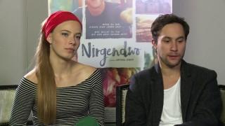 """""""NIRGENDWO"""" Interview mit Ludwig Trepte und Saskia Rosendahl"""