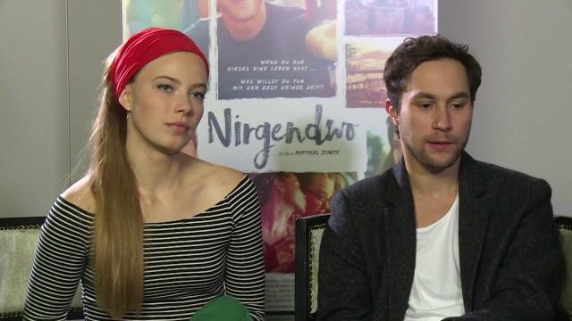 'NIRGENDWO' Interview mit Ludwig Trepte und Saskia Rosendahl