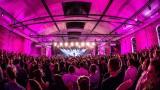 Jared Leto / 30 Seconds To Mars beim Telekom Street Gig in Berlin
