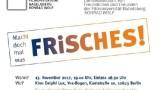 """Podiumsgespräch im Delphi Lux Berlin """"Macht doch mal was Frisches!"""""""