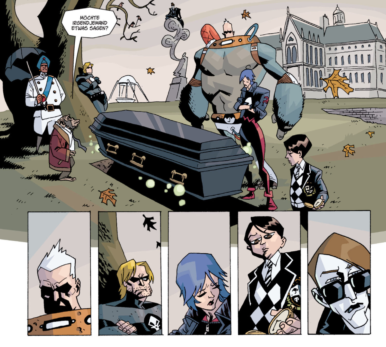 The Umbrella Academy Comic Review – Band 1 - Serieasten.TV & Cineasten.TV