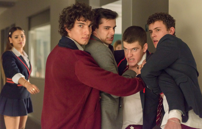 Figuren aus Elite Staffel 2 auf Netflix