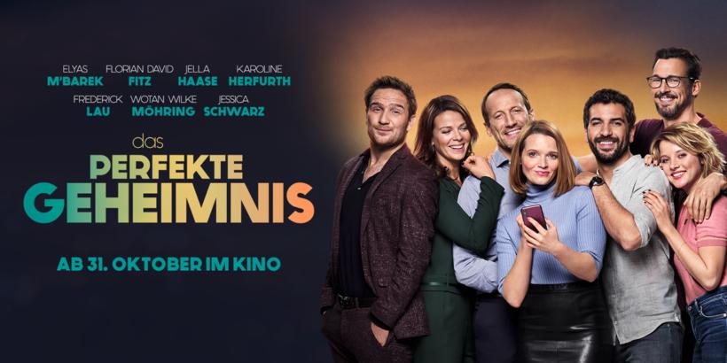 Filmkritik zu DAS PERFEKTE GEHEIMNIS mit Elyas M'Barek