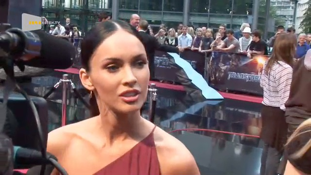TRANSFORMERS Interview mit Megan Fox 2009