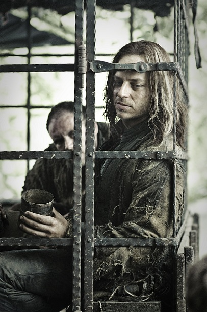 "Tom Wlashiha als Jagen H'Ghar in ""Game of Thrones"""